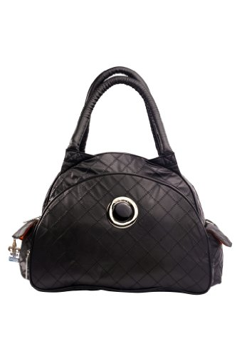 Kalencom Bellisima Sassy Continental Flair Bag, Black