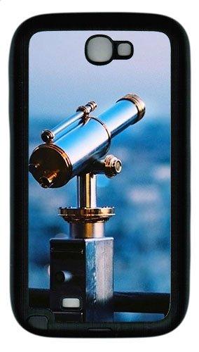 Samsung Galaxy Note Ii N7100 Case,Astronomical Telescope Tpu Custom Samsung Galaxy Note Ii N7100 Case Cover Black