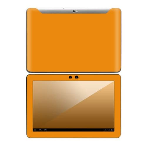 Simply Orange Design Decorative Skin Cover Decal Sticker for Samsung Galaxy Tab 10.1 Android Tablet