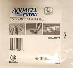 New and Improved AQUACEL® EXTRA Hydrofiber® Dressing 4\