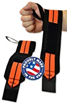 Max RPM Powerlifting Wrist Wraps - Titan Support Systems (24 inch length)