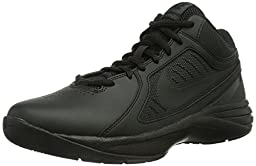 Nike Men\'s The Overplay VIII Black/Black/Anthracite Basketball Shoe 8.5 Men US