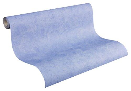 AS-Creation-758484-Boys-Girls-4-Papel-pintado-liso-color-azul