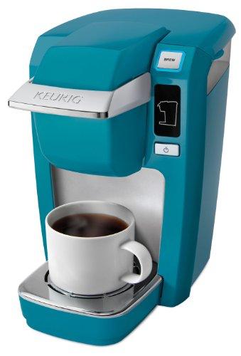 Keurig K10 Mini Plus Brewing System, Aqua (Keurig Coffee Makers K10 compare prices)