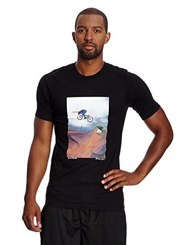 Nike T-Shirt Manica Corta Roof Work Graphic [Nero]