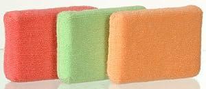Casabella Microfiber Sponge, 3-Pack