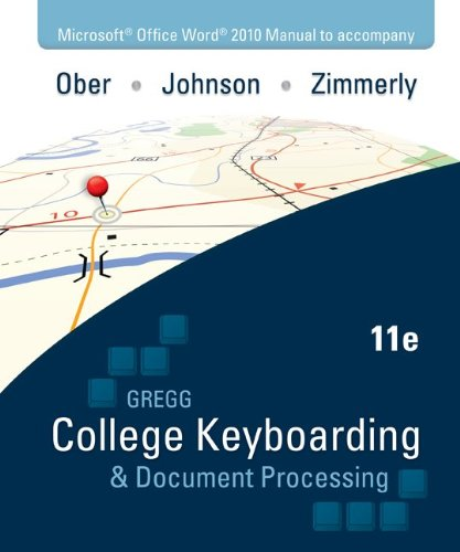 Gregg College Keyboarding & Document Processing Kit...