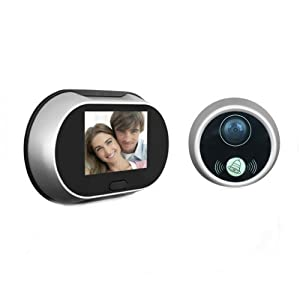 3.5 Inch 170 Degrees Wide Angle Peephole LCD Digital Door Viewer Doorbell Security Camera Cam