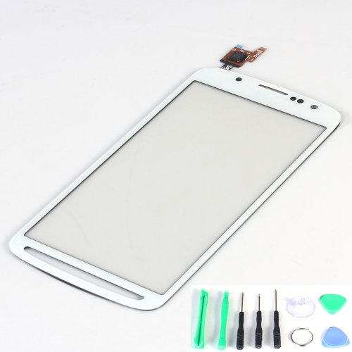 Generic White Touch Screen Digitizer Outer Glass Replacement (Lcd Display Not Included) For Samsung Galaxy S4 Active I9295 I537