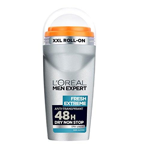 L'Oréal Men Expert fresca Estrema Deodorante Bille uomo senza effetto di alcol Icicle - Set di 3