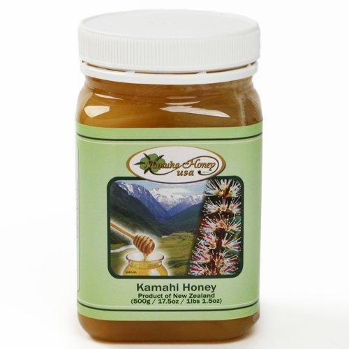 Kamahi Raw New Zealand Honey (17.5 Ounce)