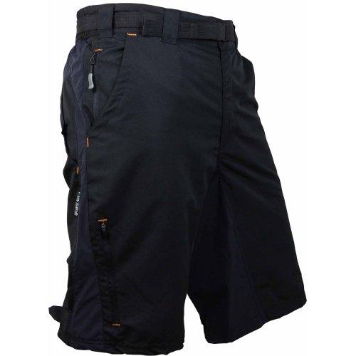 Polaris Men's Descent Cycle Shorts Black XX-Large