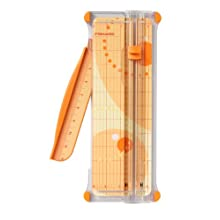 "Fiskars Scrapbooking SureCut Paper Trimmer, 7-Sheet Capacity, 12"" Cut Length"