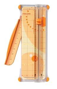 "Fiskars Scrapbooking SureCut Paper Trimmer, 7-Sheet Capacity, 12"" Cut Length"