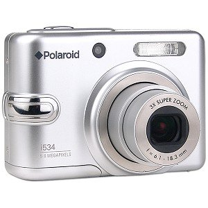 Polaroid i534 5MP Digital Camera Silver