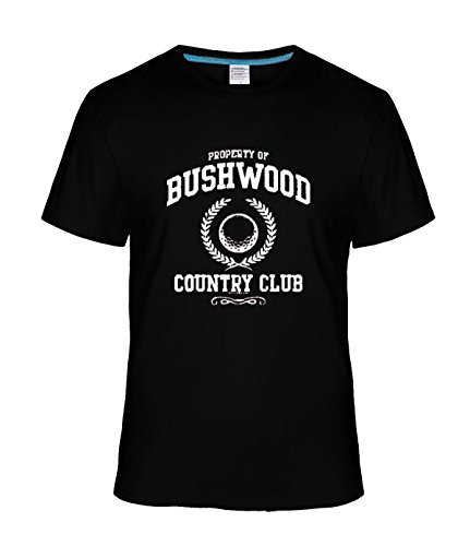 Beatles Rock Men's Geek Bushwood Country Club Funny Retro Golf tee black