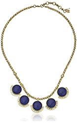 """Lucky Brand Lapis Small Collar Necklace, 18"""" + 2"""" Extender"""