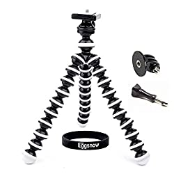 Eggsnow 3in1 Octopus Style Tripod Stand Holder + Tripod Mount + Screw for Gopro Hero 4 3+ 3 2 1 - M