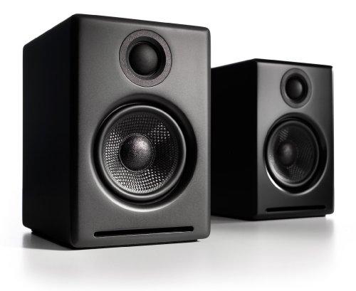 Audioengine 2 Lautsprechersystem schwarz
