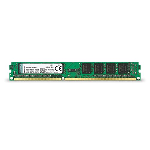 Kingston KVR16N11S8/4 4GB 1Rx8 512M x 64-Bit PC3-12800 CL11 240-Pin DIMM Value Mémoire RAM DDR3 1600MHz