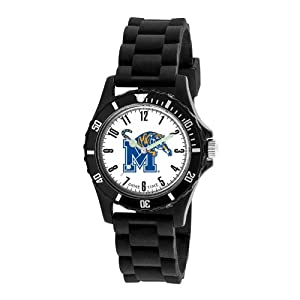 Game Time Kids' COL-WIL-MEM Wildcat College Series University of Memphis 3-Hand Analog Watch