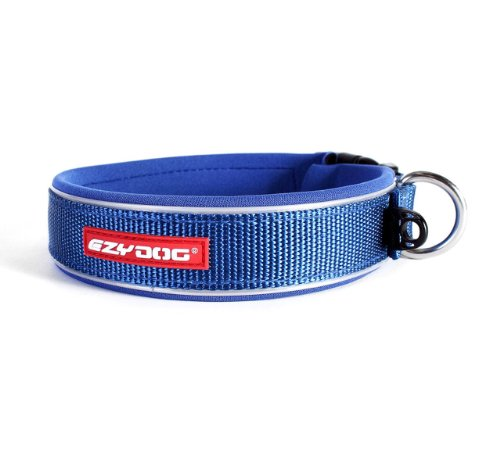 EzyDog Neo collare di cane, Piccolo (34-38cm), Blu