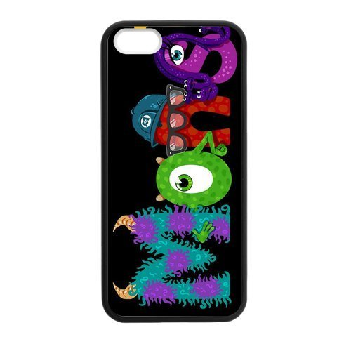FUNKYCAT Monsters Inc Minor characters Case for iPhone 5/5s (Monsters Inc Cases For Iphone 5s compare prices)