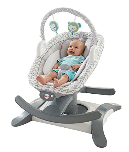 Fisher-Price 4-in-1 Rock 'n Glide Soother (Baby Swing With Ac compare prices)