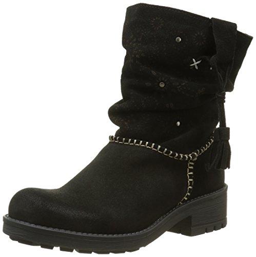CoolwayBRISI - Stivali a metà polpaccio con imbottitura leggera Donna , Nero (Nero (Blk)), 37