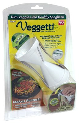 Veggetti Spiral Vegetable Slicer, Makes Veggie Pasta