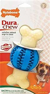 Nylabone Double Action Round Ball and Bone Dental Chew