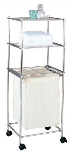 Organize It All Metro 3 Tier Laundry Cart front-568564