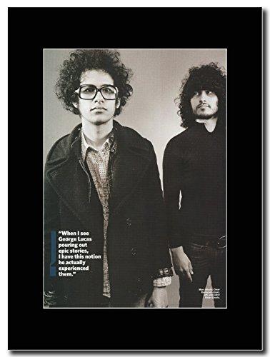 """Mars Volta, Omar """"Cedric & Magazine Promo su un supporto, colore: nero"""