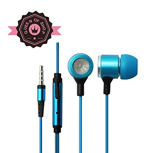 Ip680 Blue Comfortable Fashion Best-Selling Products General Earplugs 3.5Mm Gold-Plated Plugs Headset With A Mike