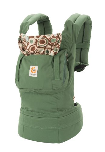 ERGObaby Organic Baby Carrier, River Rock Green