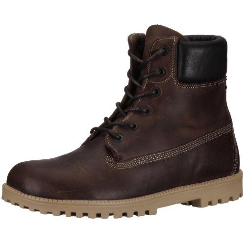 Birkenstock Norton Nubuck Leather, Style-No. 24011, Unisex Boots, Brown, EU 45, normal width