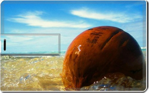 Ocean Waves Washing Over Stone 4G Usb Flash Drive 2.0 Memory Stick Msd Usb Credit Card Size Customized Support Services Ready Windows Mac Storage External front-619310