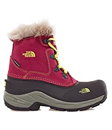 Girl\'s The North Face Mcmurdo Boot Radiance Purple/Tokyo Green Size 5 M US
