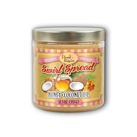 swirl-spread-honey-coconut-oil-natural-dowd-and-rogers-125-oz-jar-by-dowd-and-rogers