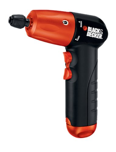 For Sale! Black & Decker AD600 6-Volt Alkaline 1/4-Inch Hex Cordless Drill/Driver with Accessory Ass...