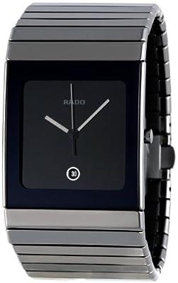 Rado Men's R21825152 Ceramica Black Dial Watch from Rado