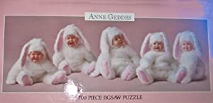 Anne Geddes 700 Piece Jigsaw Puzzle Babies as Bunnies by Ceaco