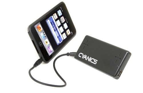 Cyanics Ultra Compact Portable Speaker For Ipod/Iphone/Mp3/Laptop (Color: Black)