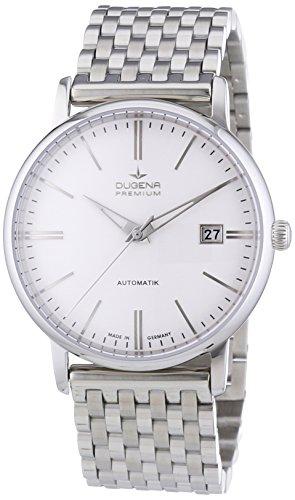 Dugena Premium  - Reloj de automático para hombre, con correa de acero inoxidable, color plateado