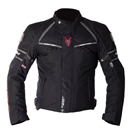 Nouveau loup Titanium Sport 2090 moto Jacket Black