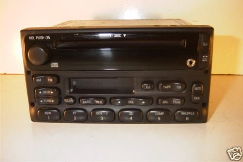 Ford 1999 2000 2001 2002 2003 2004 Ranger Radio AM FM CD CS IPOD IPAD MP3 Input (Ford Cd Player compare prices)