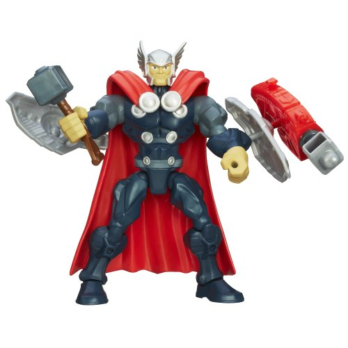 Marvel Super Hero Mashers Thor Figure 6 Inches (Thor Action Figure 6 Inch compare prices)