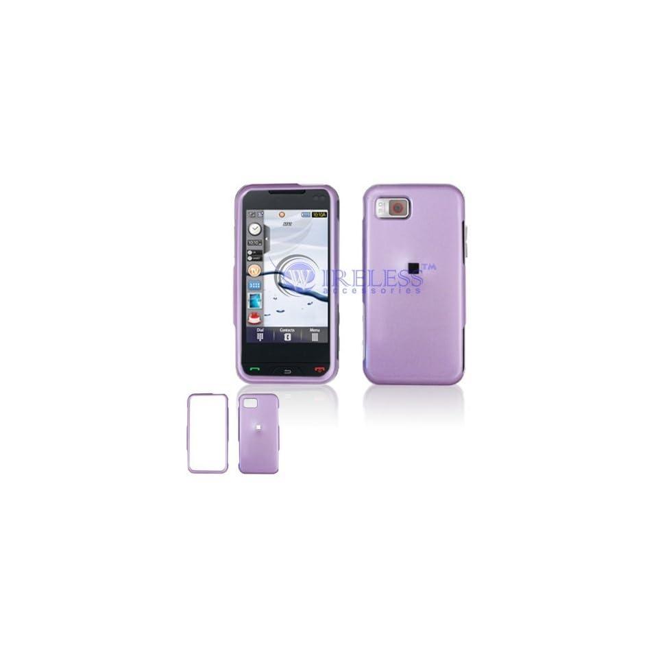 Samsung Eternity A867 Cell Phone Light Purple Honey