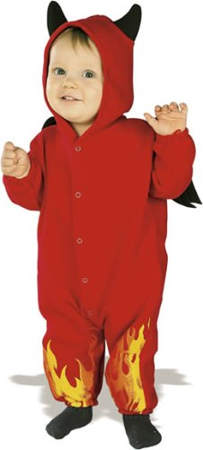 Rubie's Costume EZ-On Romper Costume, Lil' Devil, 6-12 Months - 1