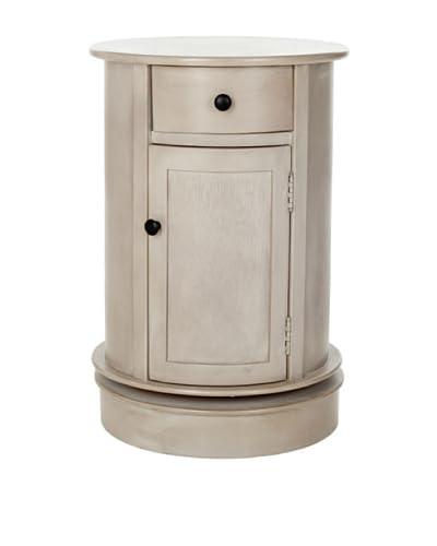 Safavieh Tabitha Oval Cabinet, Vintage Grey